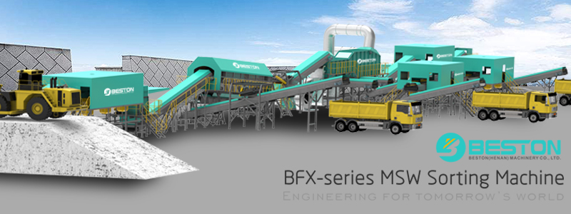 Municipal Solid Waste Sorting Plants