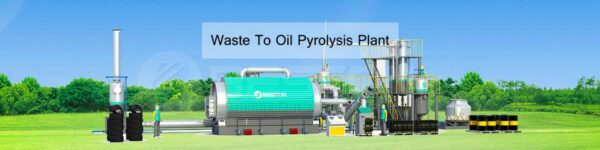 Customers from Brazil Visited Beston Pyrolysis Plant