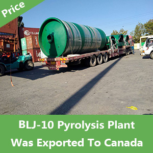 BLJ-10-Pyrolysis-Plant-Was-Exported-To-Canada